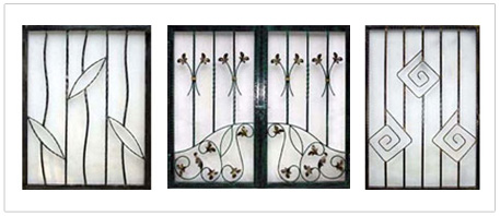 Ho ho engineering window grille singapore for Iron window design house